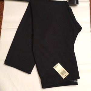 black patterned pants LP new